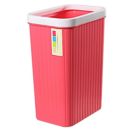 Amazon.com: Hflove Plastic Toilet Trash Can Kitchen Trash ...
