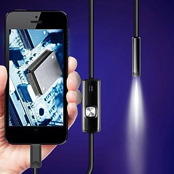 7 mm Endoskop Kamera für Android Phone wasserdichte Handy-Endoskop 1