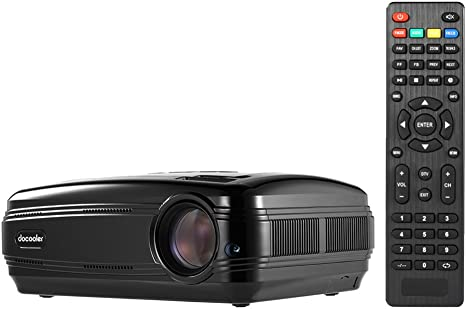Amazon.com: docooler bl-58 LED LCD Proyector 1080p 3200 ...