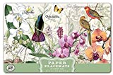 Michel Design Works 25-Count Papel Manteles individuales, Orchids in Bloom, 1