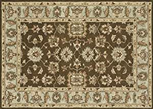 """Loloi Fairfield Hand-Tufted Rug, Brown/Turquoise, 7' 6"""" by 9' 6"""""""