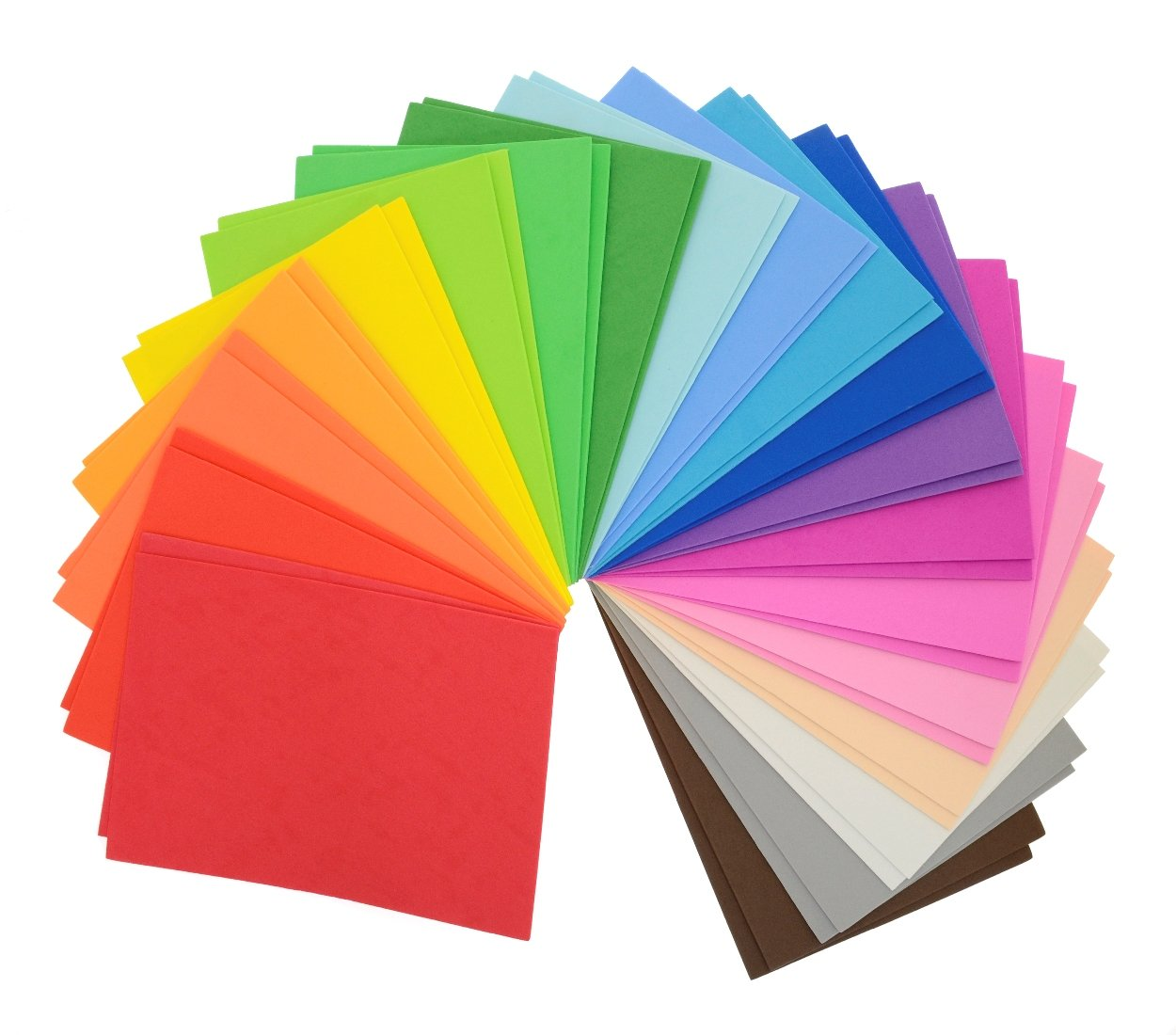 CI Bumper Pack of 40 x A5 Sheets of Eva Foam in Assorted Colours 1860155