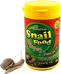 Premium Feed for pet Snails Fortified with Vitamins and Iron (160g)