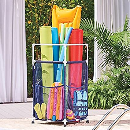 Modern Pool Noodle Organizer | Perfect Contemporary Storage For Your  Inflatables, Rafts, Goggles,
