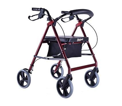 HJHY® ayudas para caminar, Walker El tráfico de ayuda a personas mayores Cinturón con