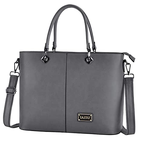6b84d1df8 Image Unavailable. Image not available for. Color: Laptop Bag, IAITU  Multifunctional Briefcase Top Handle Tote Bag Womens Shoulder Bag for  School Travel
