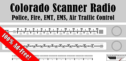Colorado Scanner Radio 140+ Stations Police, Fire, EMS, ATC
