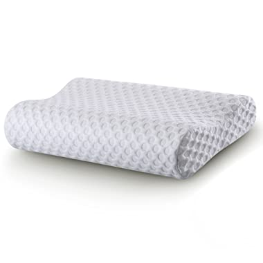 Cr Sleep Memory Foam Contour Pillow