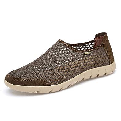 5f3cbac35378 Chaussure de Marche de la Ville au Loisir Basse Plate pour Femme Homme  Chaussure en Toile