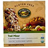 Nature's Path, Organic, Trail Mixer, Chewy Granola Bars, Gluten Free, 5 Bars, 1.2 oz Each(Pack of 6)