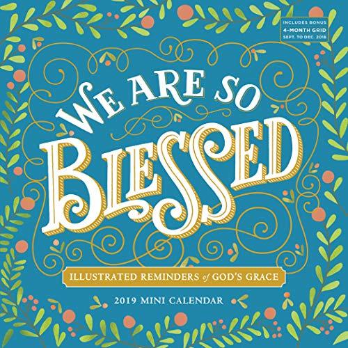 Calendar Mini Print - We are So Blessed Mini Wall Calendar 2019 [7