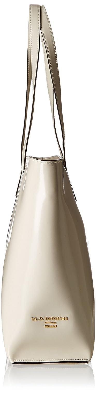 49a8112649 Nannini Mirror Color Borsa a Tracolla, Pelle, Cipria, 34 cm: Amazon.it:  Scarpe e borse