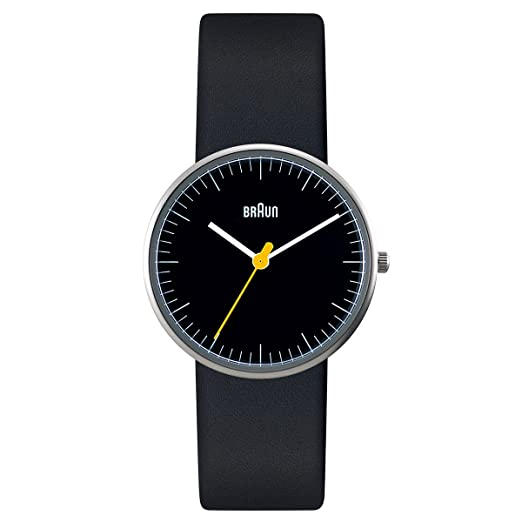 Braun BN0021BKBKL - Reloj (Reloj de pulsera, Femenino, Acero inoxidable, Acero inoxidable
