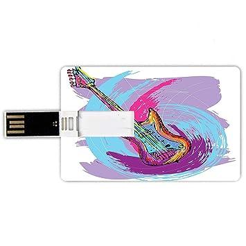 8GB Forma de tarjeta de crédito de unidades flash USB Grunge mano ...
