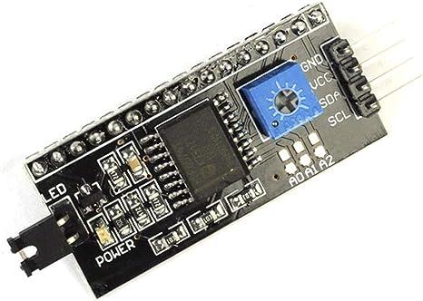 IIC//I2C//TWI//SPI Serial Interface Board Module Arduino 1602 LCD Display HD44780