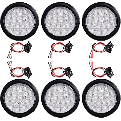 4 Inch Round Clear Led Lights in US - 4