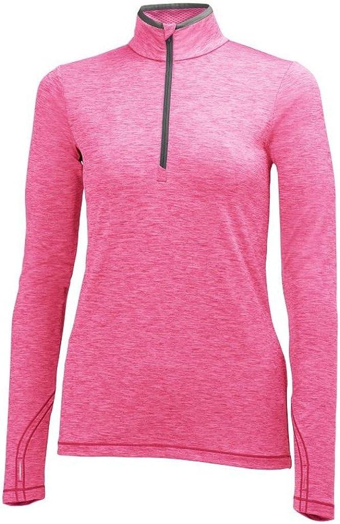 Helly Hansen Womens Aspire Flex 1//2 Zip Long Sleeve Running and Training Shirt