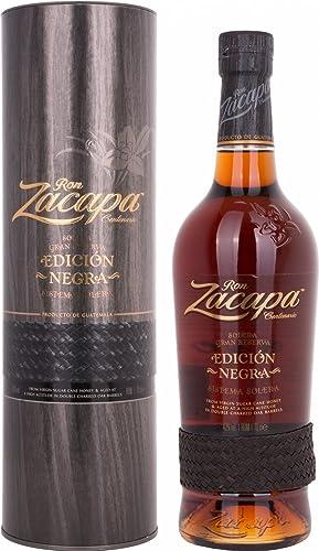 Zacapa Edición Negra - 700 ml: Amazon.es: Alimentación y bebidas