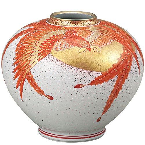 KUTANI YAKI(ware) Vase Phoenix pattern