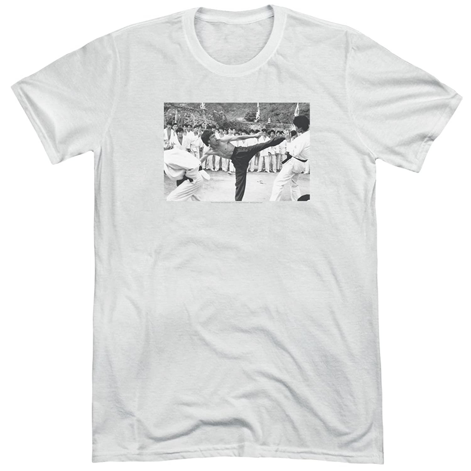 Bruce Lee Men's Kick To The Head Tri-Blend T-Shirt