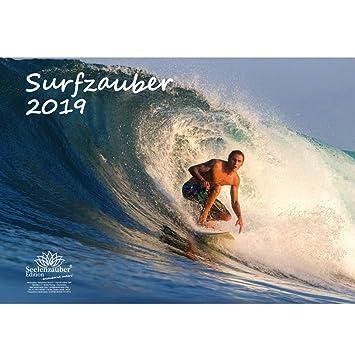 Carte Australie Surf.Surfza Uber Format A3 Haute Calendrier 2019 Surfer