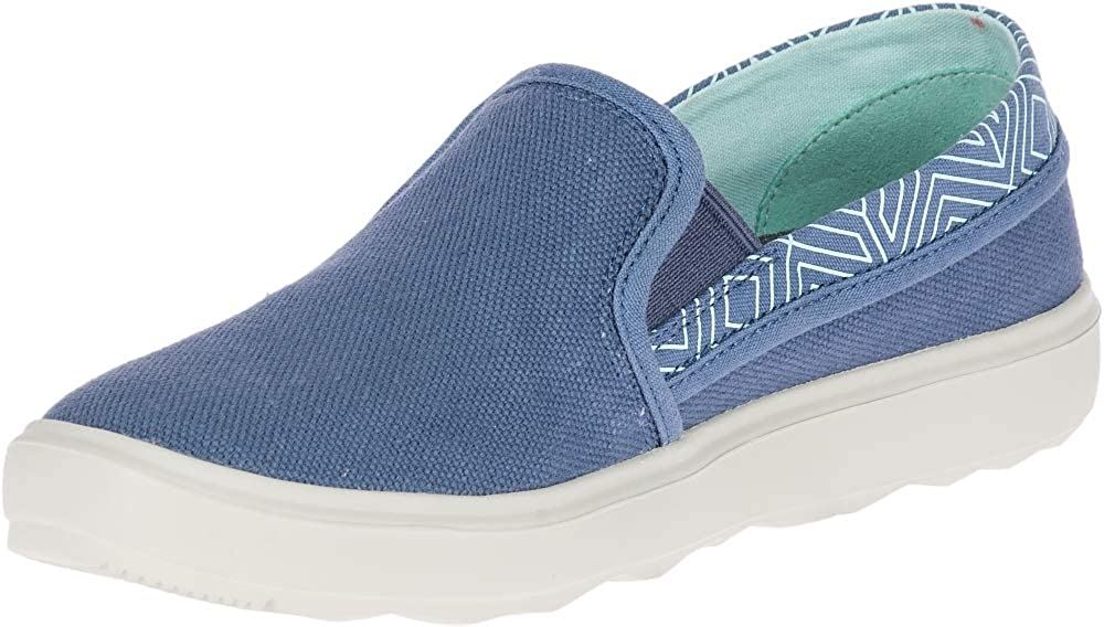 Merrell Womens Around Town City Moc Canvas Shoes