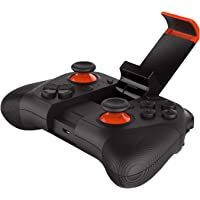 TASLAR Wireless Game Controller Phone Gamepad for Android Smartphones TV/PC Controller 3D VR Headset Remote Control Bluetooth Joystick (Black) (Does Not Support For PUBG)