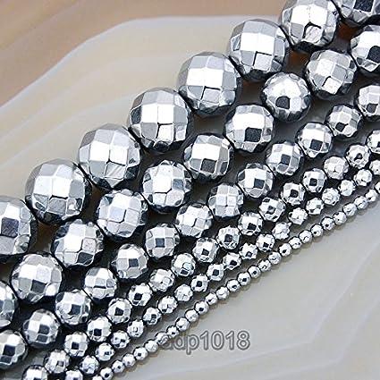 "Hematite Rondelle Beads 15.5/"" strand 6MM 8MM 10MM"
