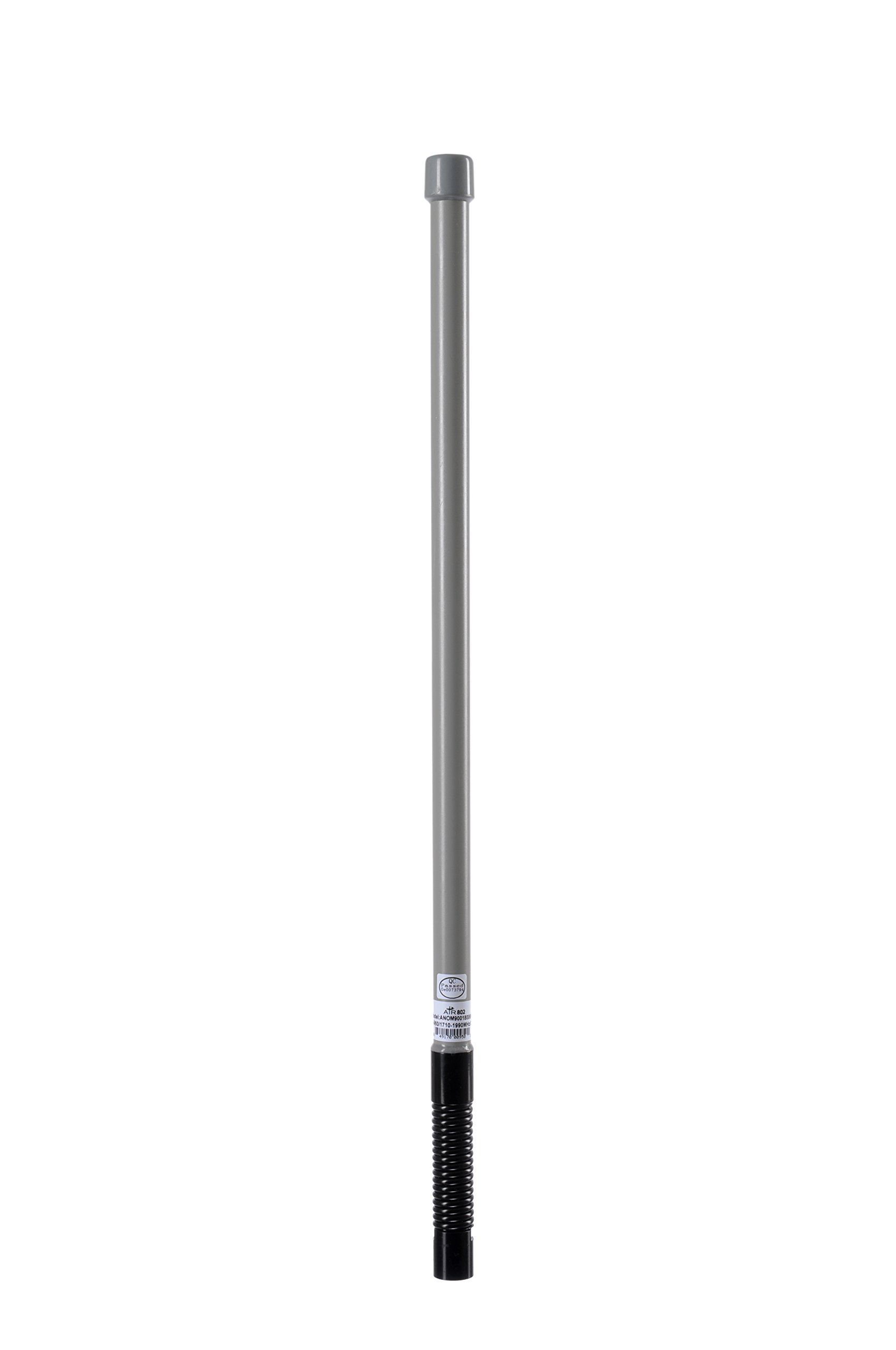 AIR802 Dual or Multi-Band Cellular Omni-Directional Antenna, 6 dBi Gain, Mesh Style with N Plug-Male and Heavy Duty Spring for 824 to 960, 1710 to 1990