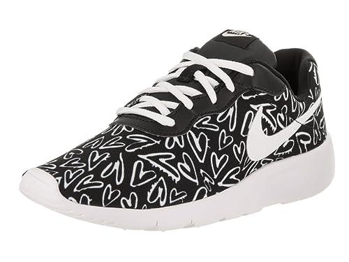 Nike Tanjun Print GS 833668-003, Zapatillas Unisex niños, Mehrfarbig (Black,