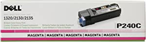 Dell P240C 1320C 2130 2135 Toner Cartridge (Magenta) in Retail Packaging