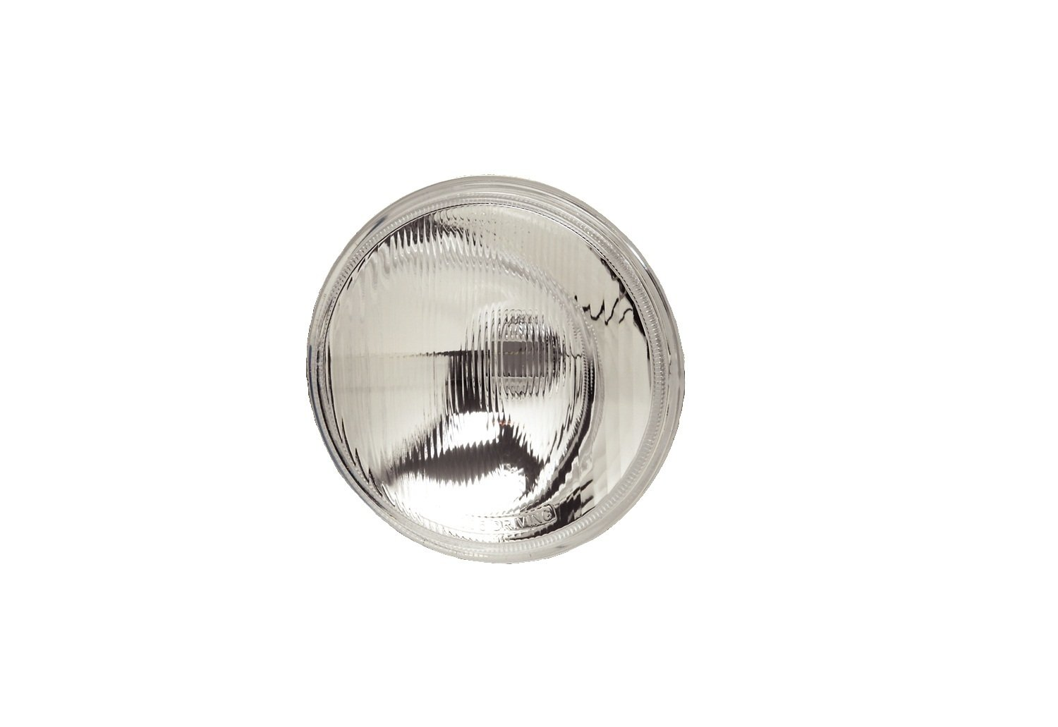 KC HiLiTES 4205 6 Replacement Driving Beam Pattern Glass Lens/Reflector with H3 Bulb Socket Adapter