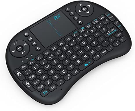 Russian i8 Air Mouse Wireless Keyboard with Touchpad for Android TV Box /& Smart TV /& PC Tablet /& Xbox360 /& PS3 /& HTPC//IPTV Durable Support Language