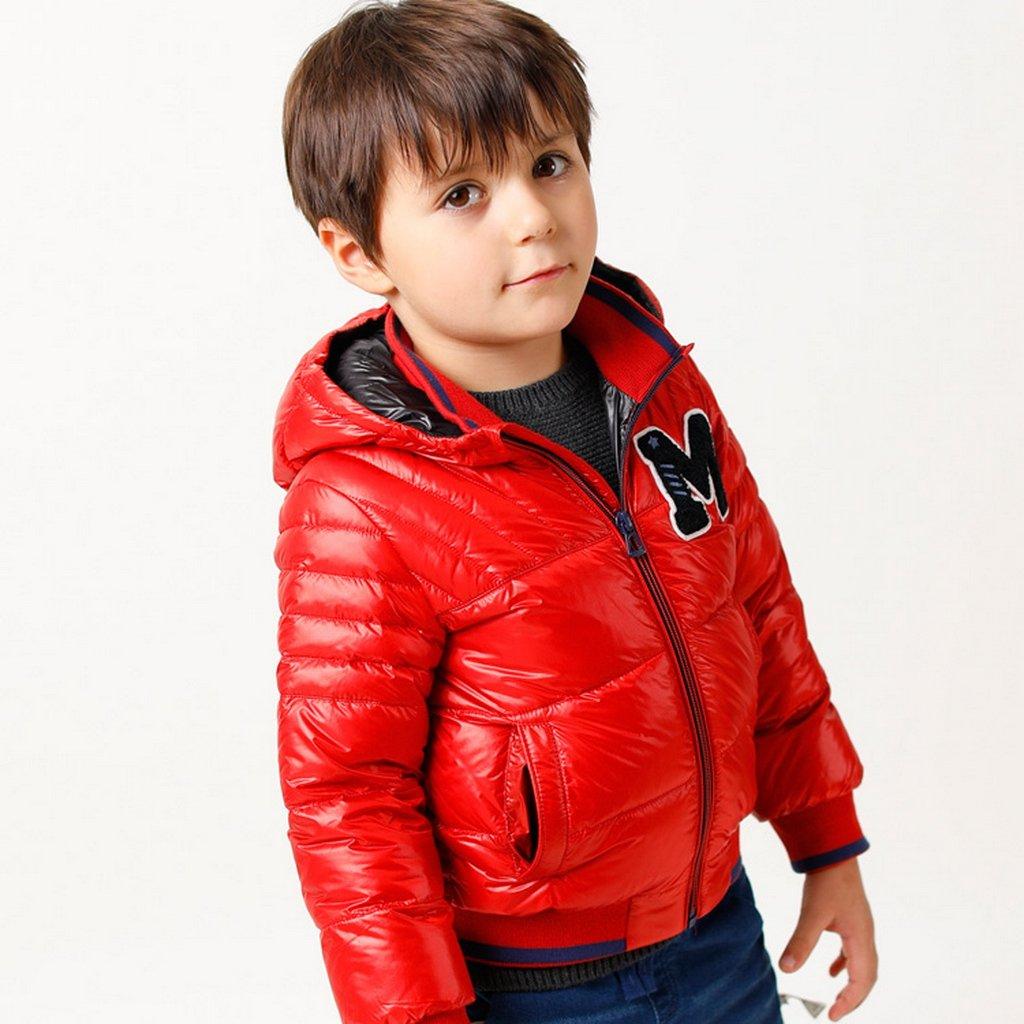 marc janie Baby Toddler Boys Hoodie Zipper Ultra Light Down Puffer Jacket TW16819
