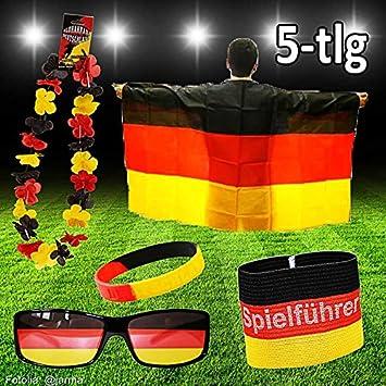 Deutschland WM Fan Set 5 6-teilig