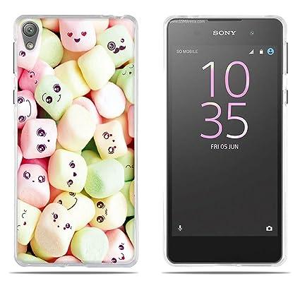 DIKAS Compatible with Funda Sony Xperia E5, TPU Silicona ...