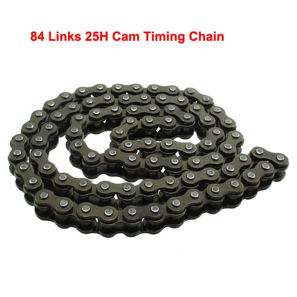 TC-Motor 84 Links 25H Cam Timing Chain For 110cc ATV Dirt Bike Go Kart//Honda TRX90 TRX90X 1993-2018
