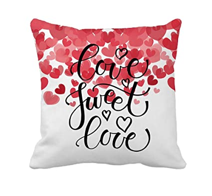 Amazon Com 4th Emotion Love Sweet Love Text As Valentine S Day Home
