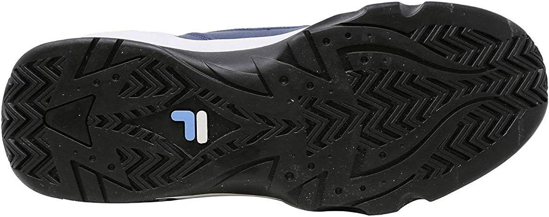 Fila Men's 95 Slip Heritage Sneaker (Ink Blue/Sky Blue/White) Ink Blue / Blue / White