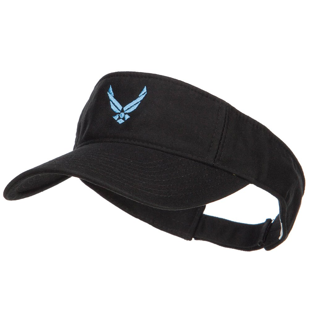 2bf83ec57d7 Amazon.com  E4hats U.S. Air Force Embroidered Cotton Washed Visor ...