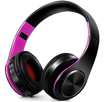 shan SASA Auriculares inalámbricos Plegables para Auriculares Música Bluetooth Deportes Tarjeta de Memoria Apple Andrews Universal Negro, Verde: Amazon.es: ...