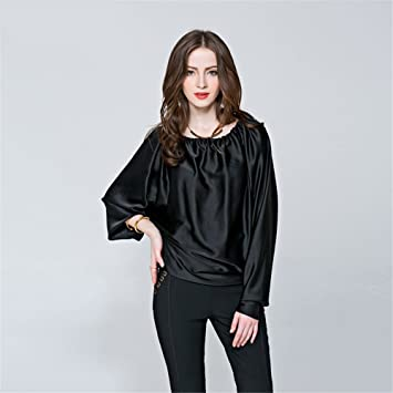 Damas Moda Casual Tops sexy mujeres Camiseta de manga larga Camisa Blusa Strapless sueltos todo el