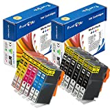 PrintOxe™ Compatible 12 Ink Cartridges for 564XL (2 Complete Sets + 2 Black) with XL Chips ( 4 Black, 2 Photo BK, 2 Cyan, 2 Magenta, and 2 Yellow) ; Exclusively sold by PanContinent