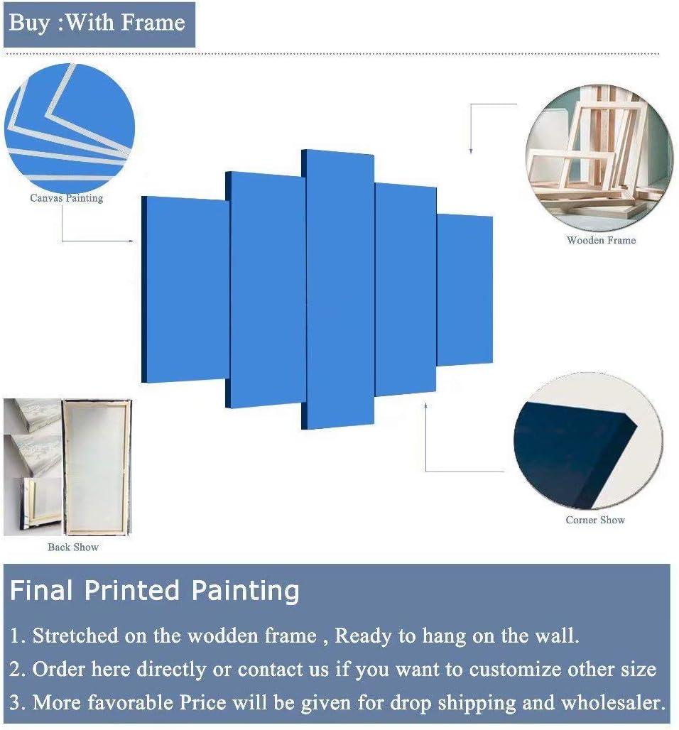 Frameless size1 Wandkunst Leinwand Malerei Wohnzimmer HD gedruckt Gandalf Bilder 5 St/ück Hobbit Herr der Ringe Poster Home Decor