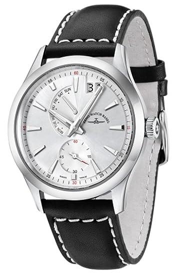 Zeno-Watch Reloj Mujer - Gentleman Big Date Quartz - 6662-7004Q-g3: Amazon.es: Relojes