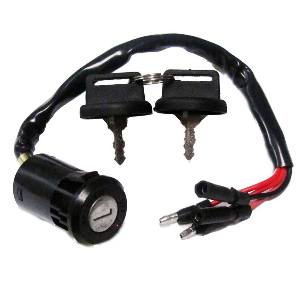 Ignition Key Switch Fits HONDA 300 TRX300 FOURTRAX 1990 1991 1992 1993-2000 ATV