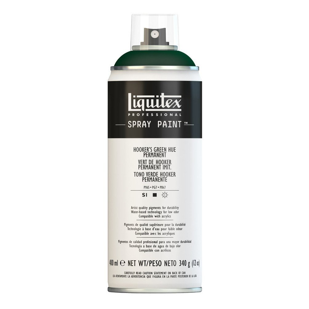 Liquitex Professional - Acrílico en spray, 400 ml, verde de hooker ...