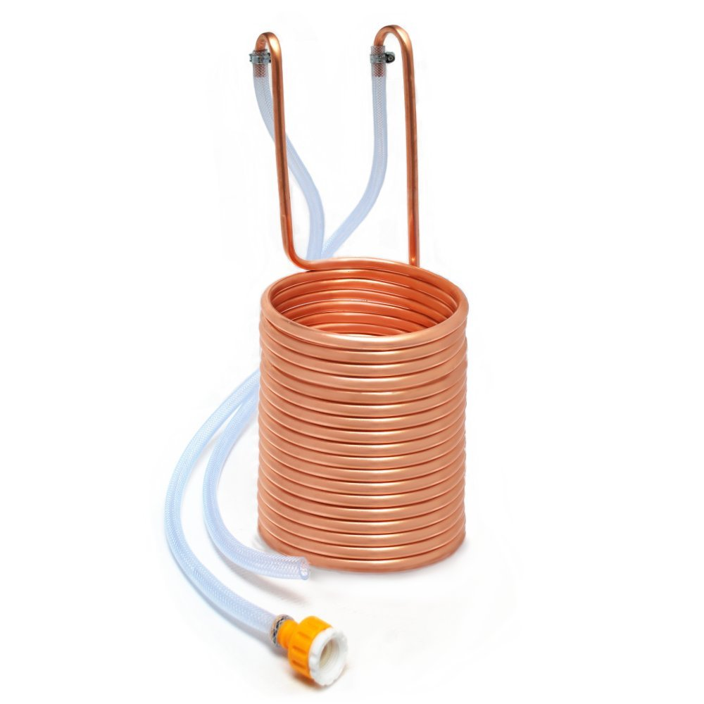 Immersion Wort Chiller / Cooler for Home Brewing - With Outside Tap Connector Home Brew Online