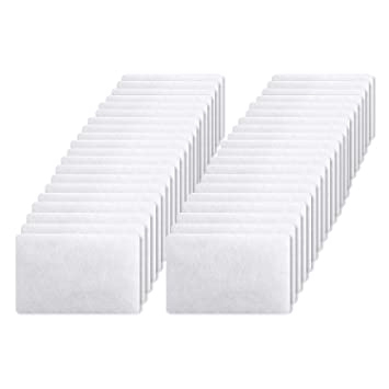 40 Pack CPAP Filters Premium Disposable Air Filter, Universal Replacement  Filter for Resmed