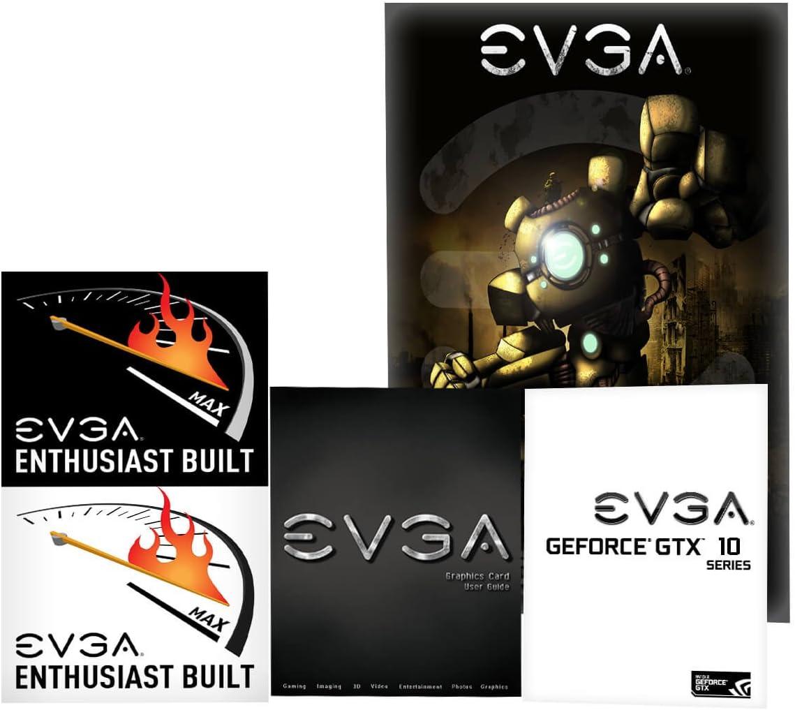 EVGA GeForce GTX 1070 SC GAMING ACX 3.0 - Scheda grafica 08G-P4-6173-KR Nero  Real Boost Clock: 1683 MHz